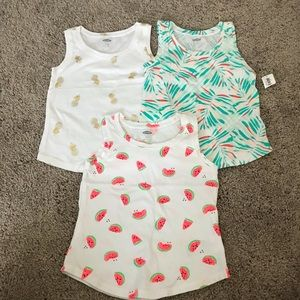 Set of 3 Old Navy Tanks (3t) NWT